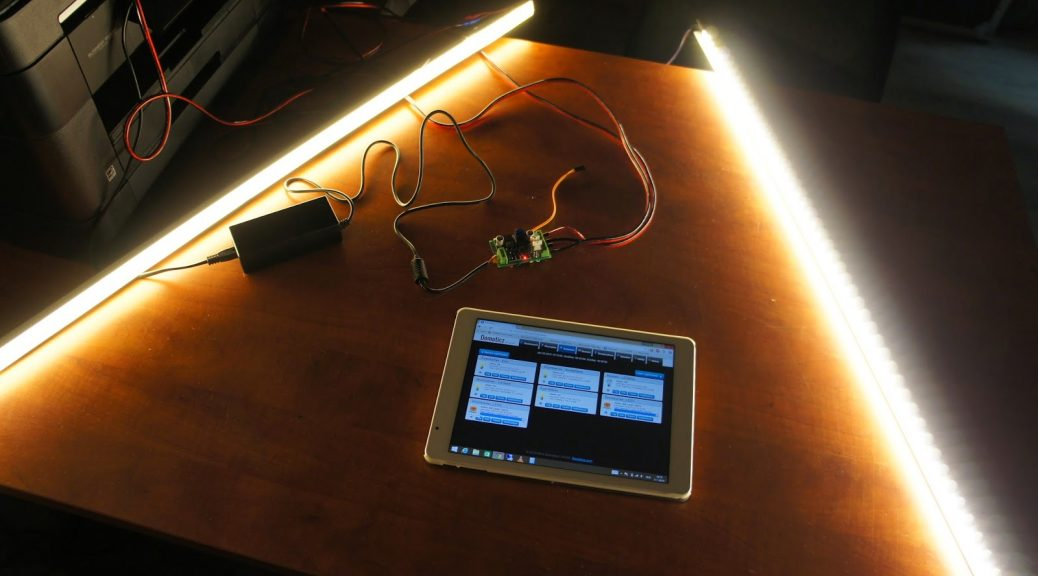 ESP8266 WiFi LED dimmer Part 1 of X: The setup - Intermittent Technology