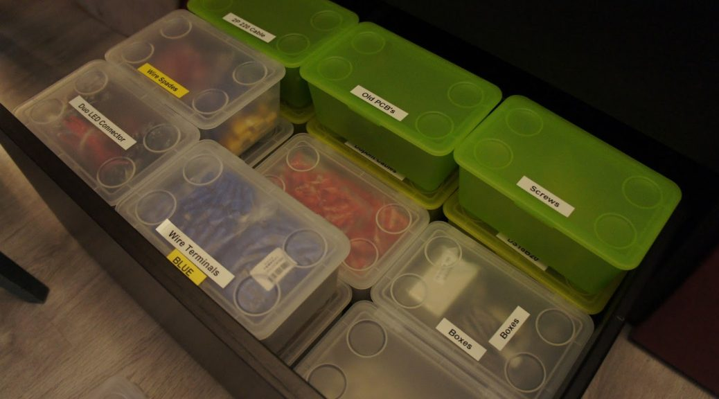 The Ikea Tinker Storage System Intermittent Technology
