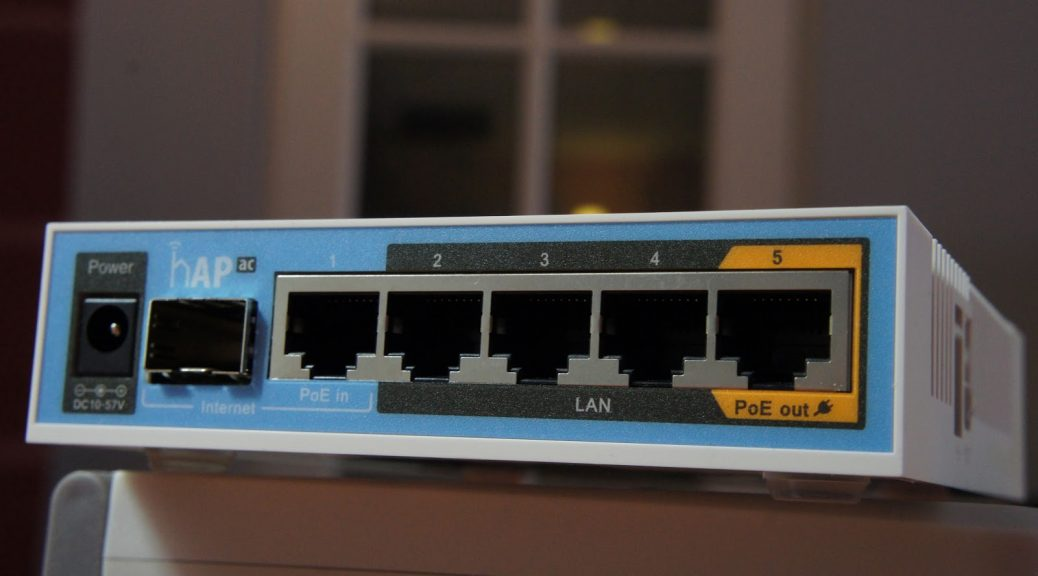 Review of the Mikrotik hAP AC and great wireless coverage in