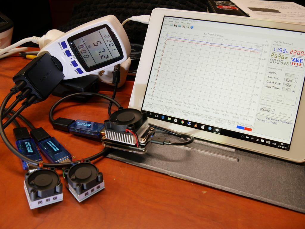 W3PTA test setup