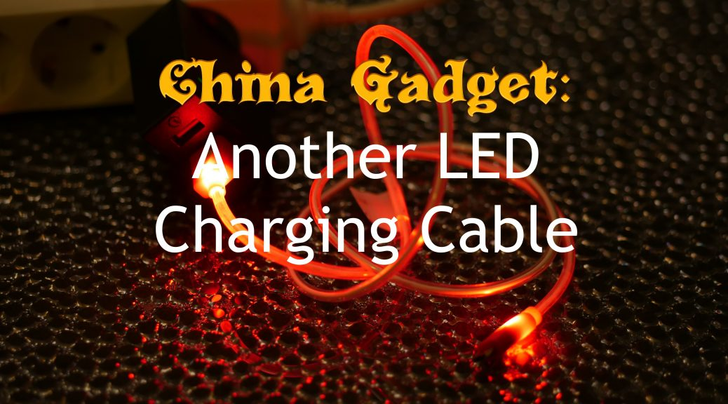 Another LED charging cable