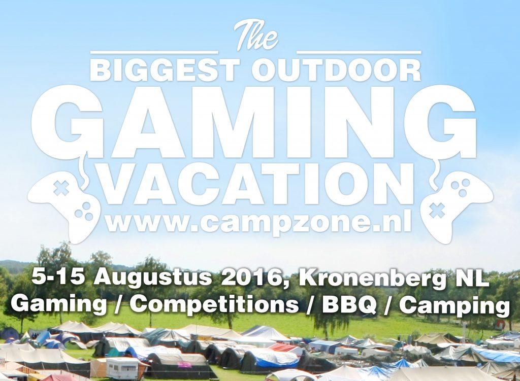 CampZone 2016 banner