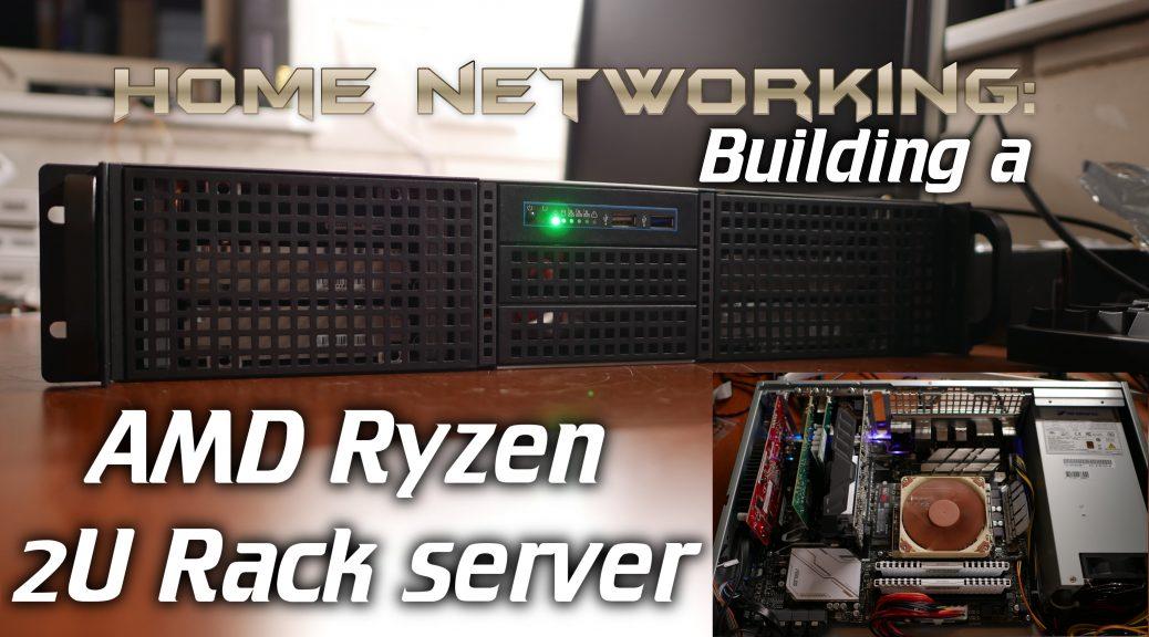 Building A 2u Amd Ryzen Server Hardware Configuration Zfs Settings Intermittent Technology
